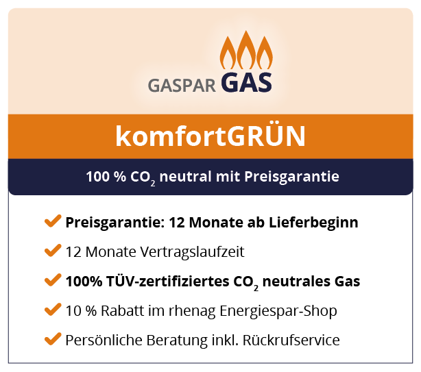 co2 neutrales gas